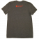 TJ Martell Foundation Unisex Heather Charcoal Tee